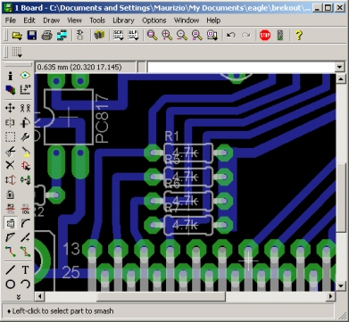 PCB smashing with Eagle CAD - cuteminds.com