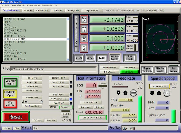Mach4 cnc software - Newfangled Solutions CNC Software Home of Mach3